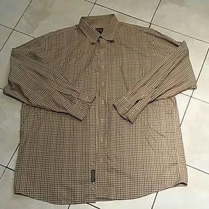 Men's Jos A Bank long sleeve plaid shirt